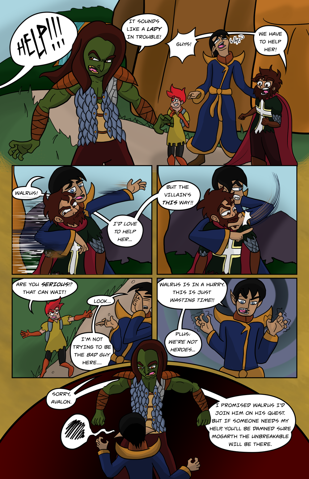 Curse Quest Chapter 2 Page 4