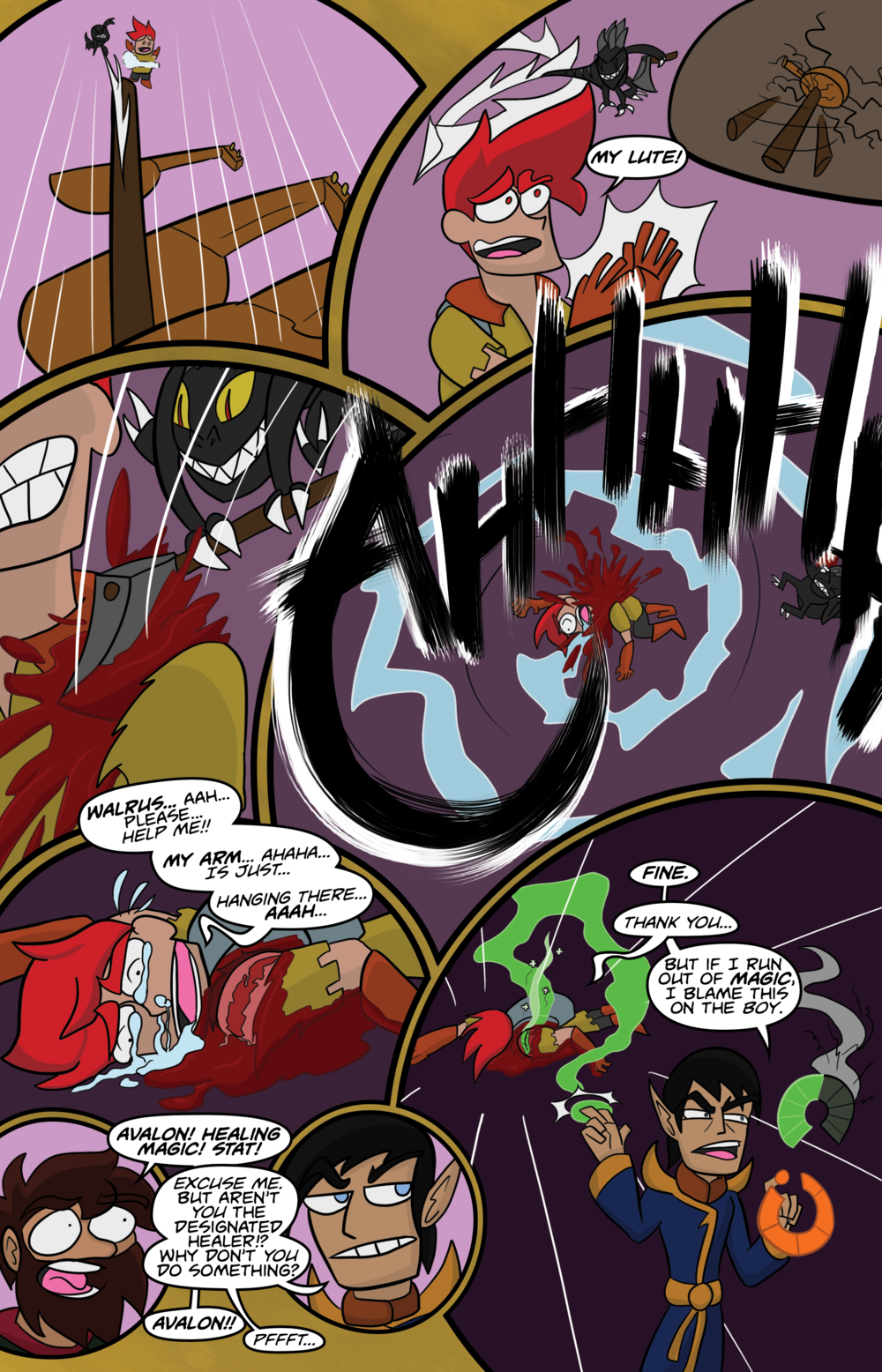 Curse Quest Chapter 2 Page 11