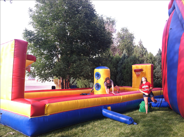 Challenge Family, Friends, and Foes! - We have a nice variety of inflatables to bring out the competitive spirit in all of us.Learn more ➝
