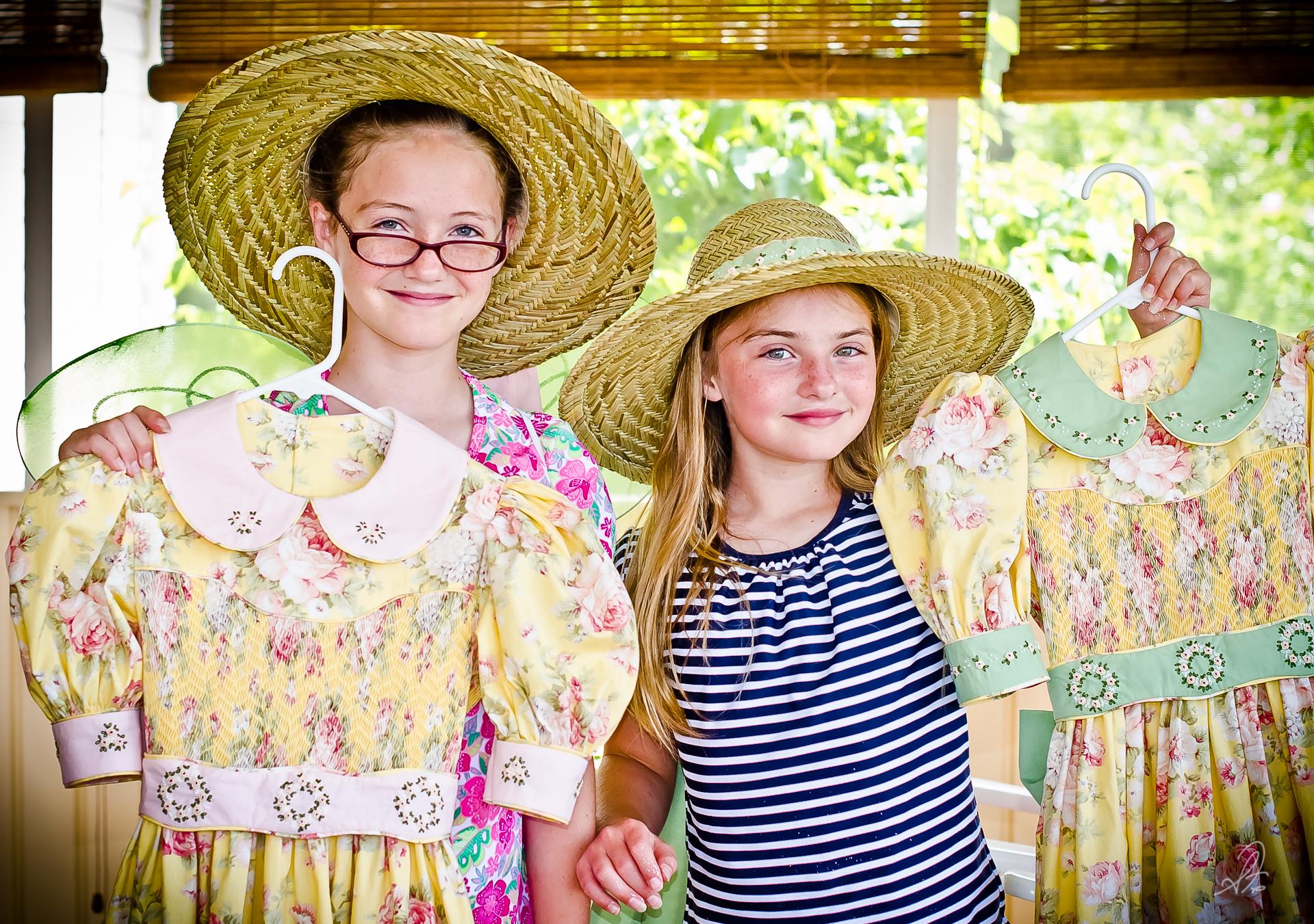 Hand Made Smocked Dresses by Deborah Fillmer