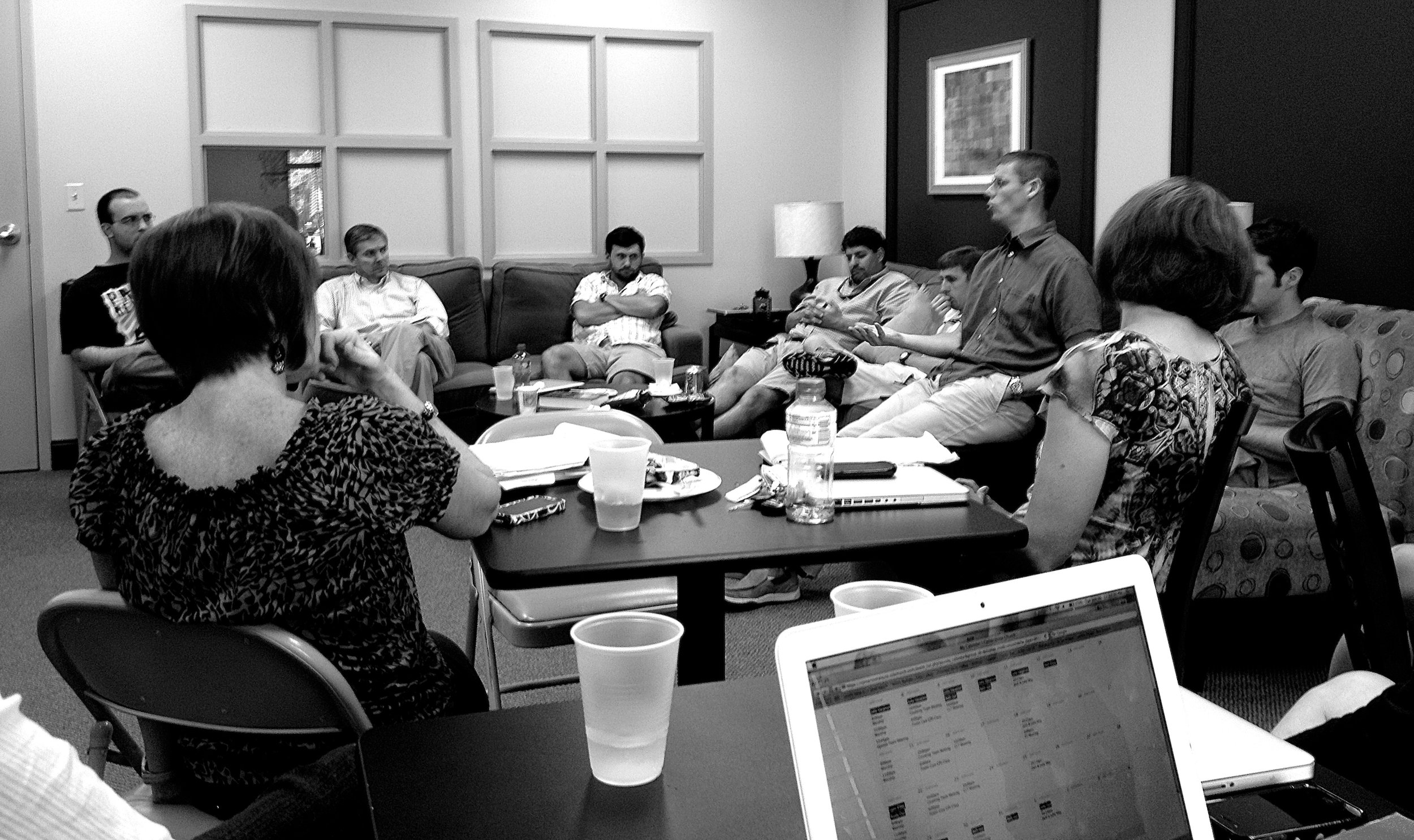 Monthly All Staff Meeting at Cornerstone
