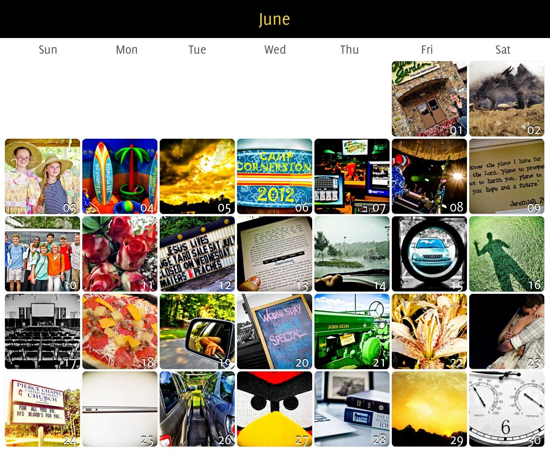Project 365 June 2012 Update