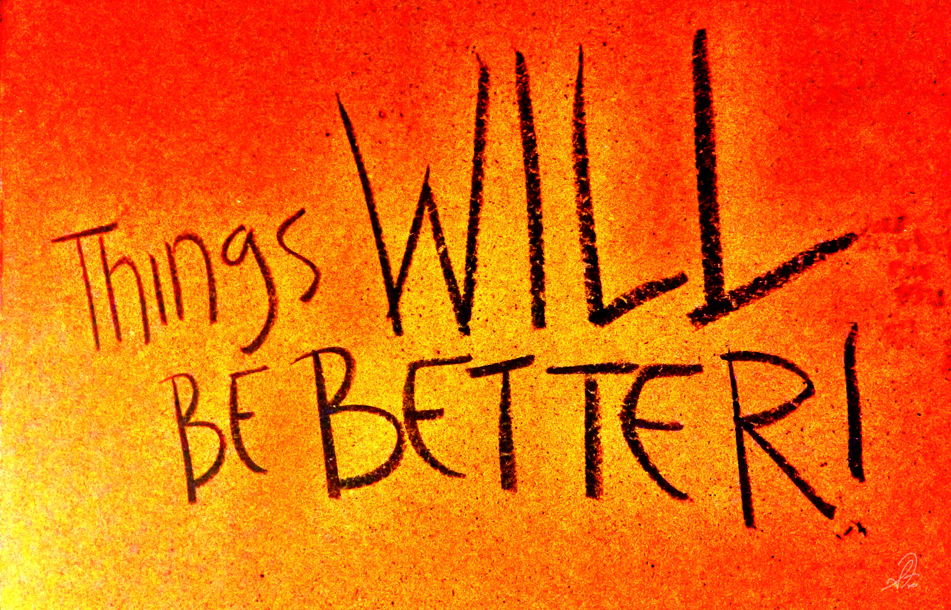 Chalk on the Wall Things Will Be Better Auburn Football