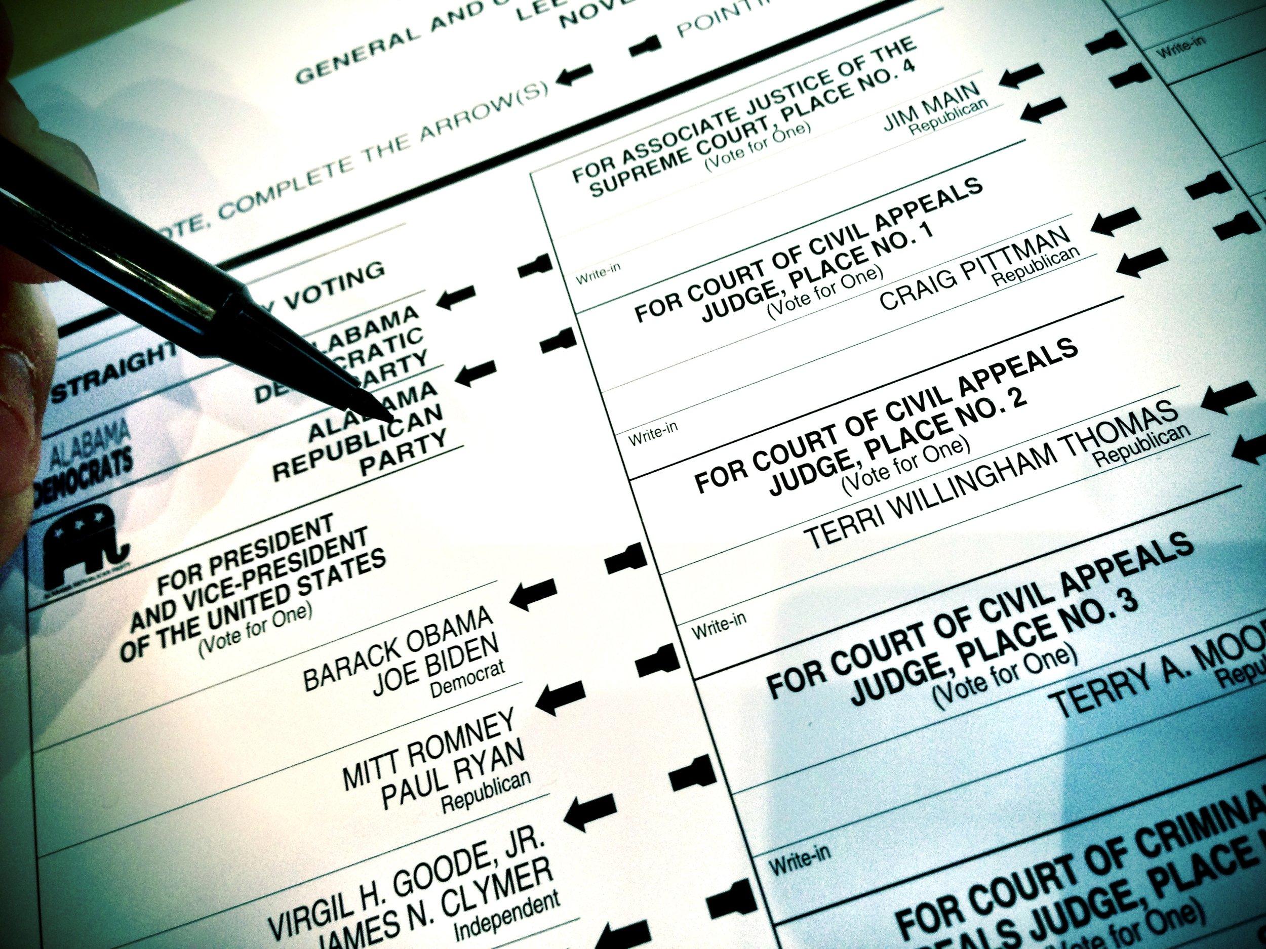 The Alabama Ballet for Election 2012