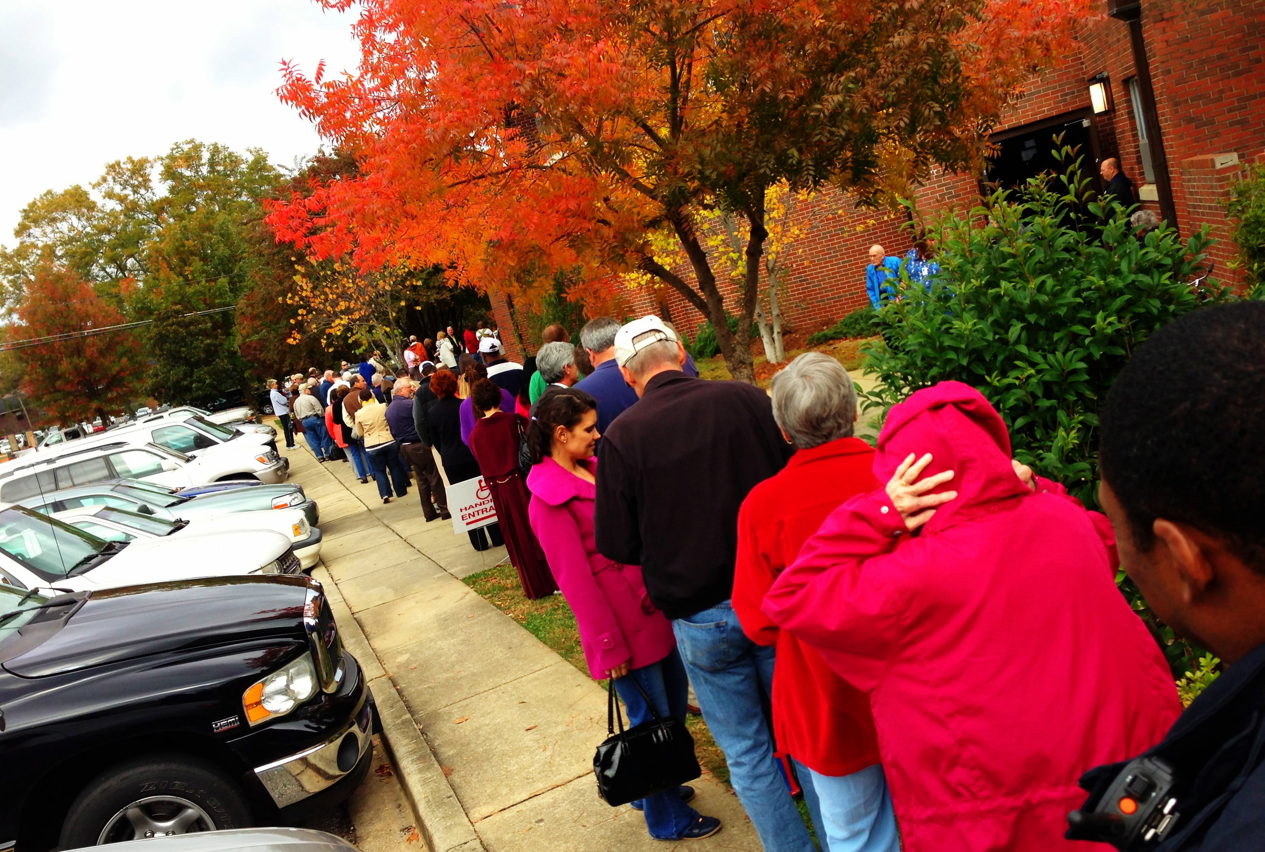 Lines at My Local Auburn Polling Place