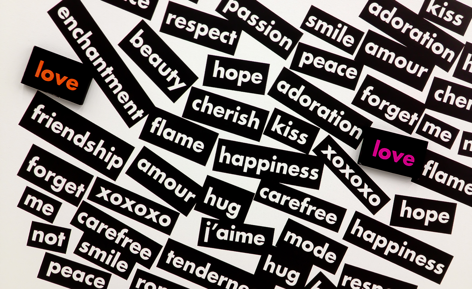 Project 365 [Day 291] Words for Love