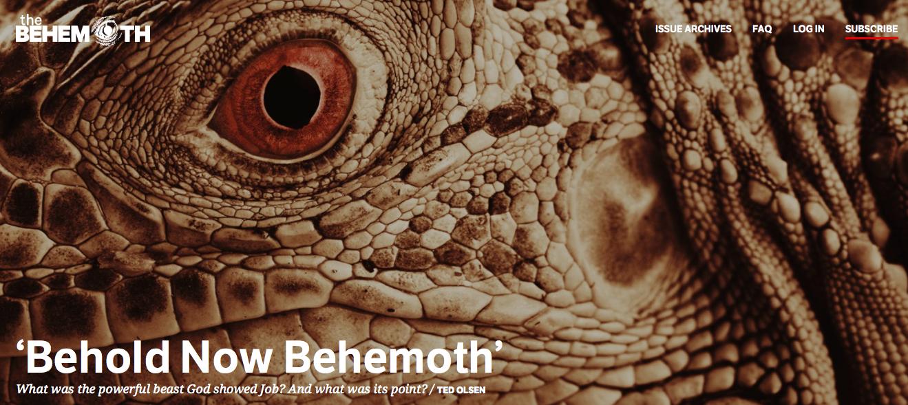 The Behemoth Magazine