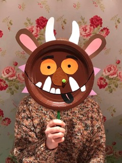 GET creative - Join us for one of our arts and crafts workshops aimed at 3-8 year olds. Activities include mask-making, pom-pom character crafts, and the chance to create your own puppet book mark!