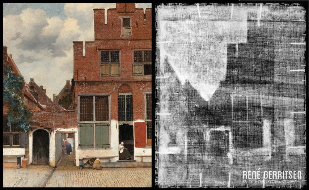 Het Straatje, Johannes Vermeer