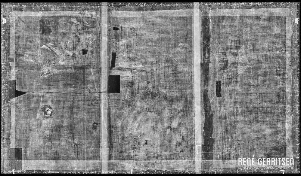 Röntgen montage   Oude Schutterij van Alkmaar, Van Everdingen