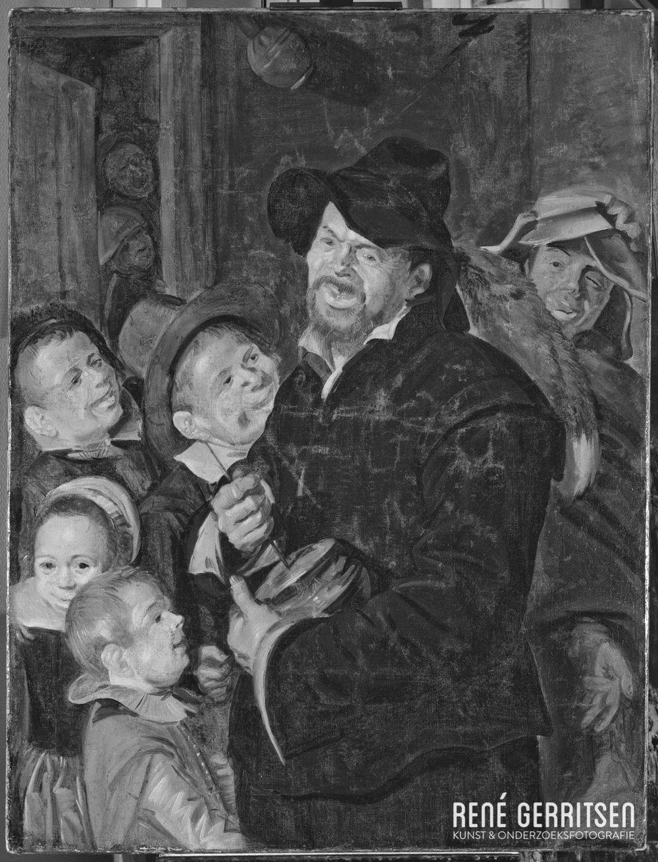 Infrarood opname - Schilderij Frans Hals