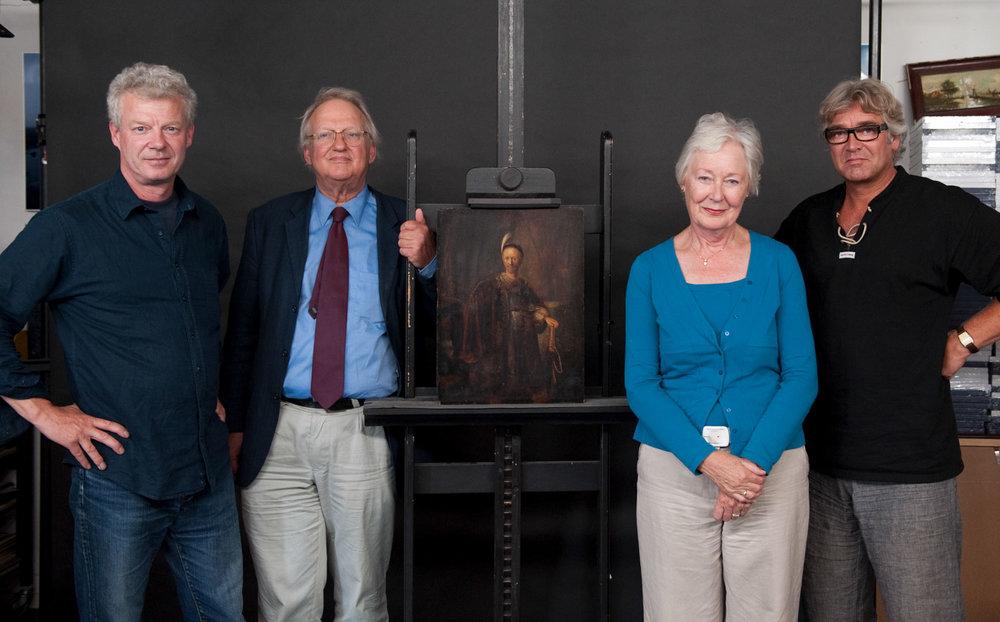 ernst van de wetering rene gerritsen team rembrandt research project © René S. Gerritsen.jpg