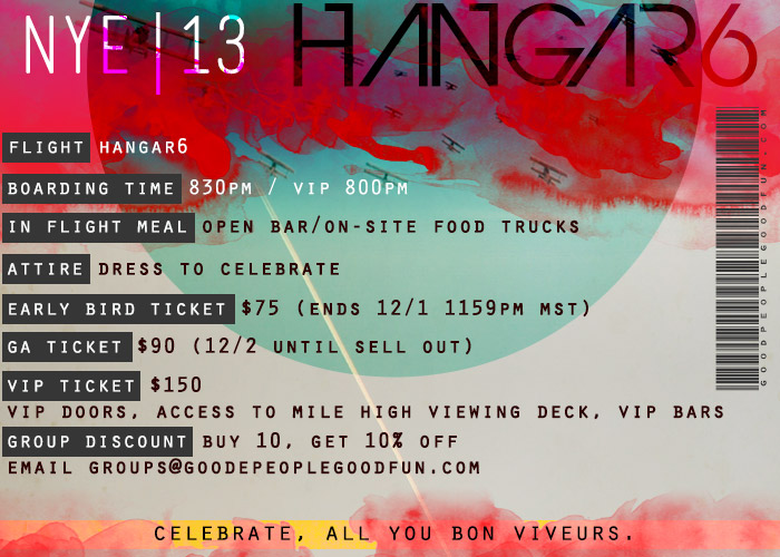 br/>New Year's Eve: Hangar 6 — Mile High Soul Club