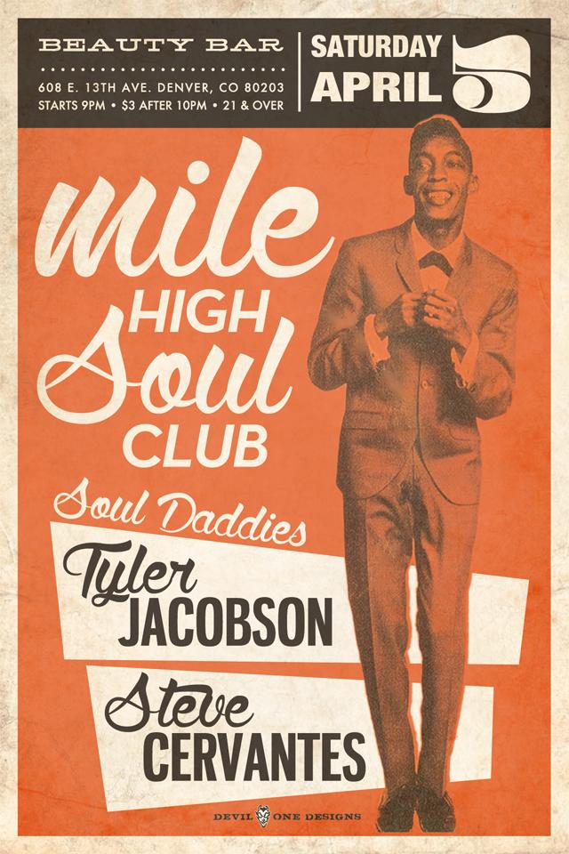 Mile High Soul Club April 2014