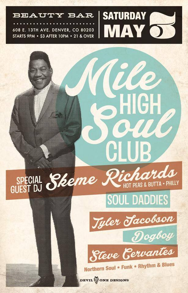 Mile High Soul Club May 2014