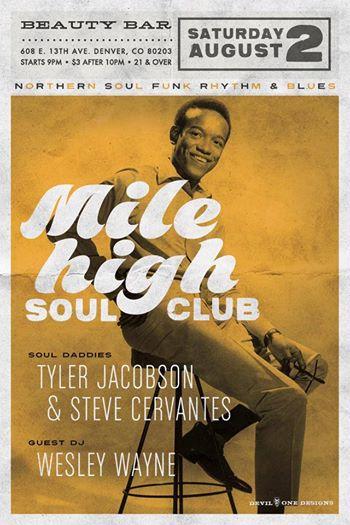 Mile High Soul Club Augu