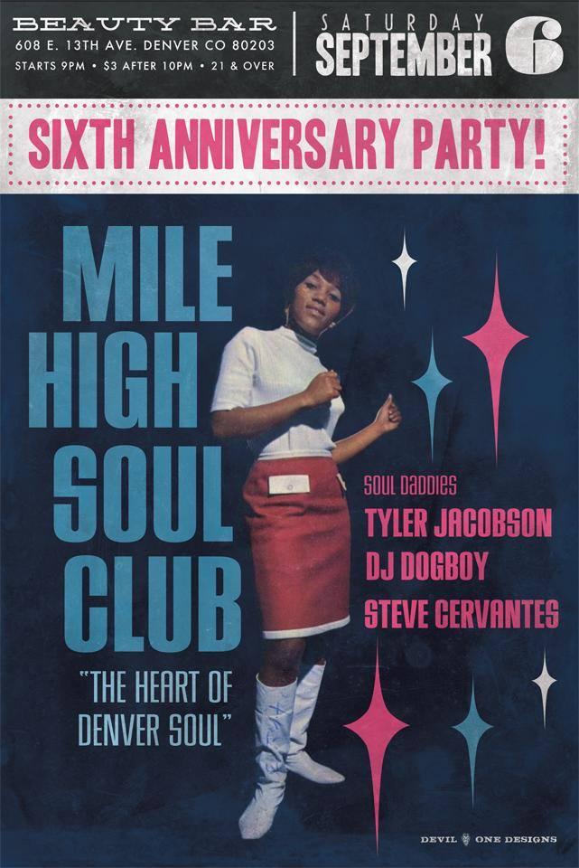 Mile High Soul Club 6th Anniversary