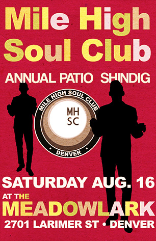 Mile High Soul Club annual patio party at The Meadowlark