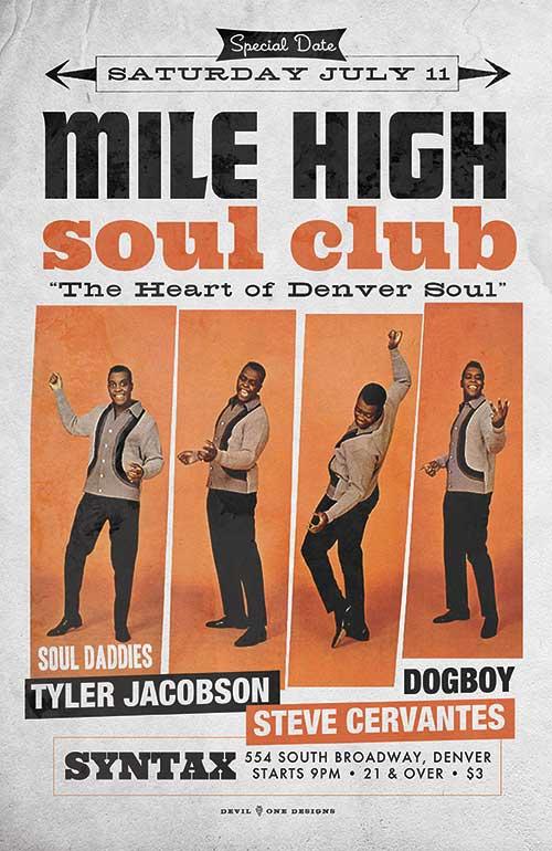 Mile High Soul Club July 2015 - The Heart of Denver Soul