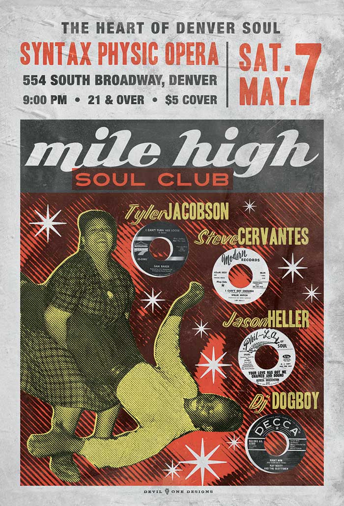 Mile High Soul Club - May 2016