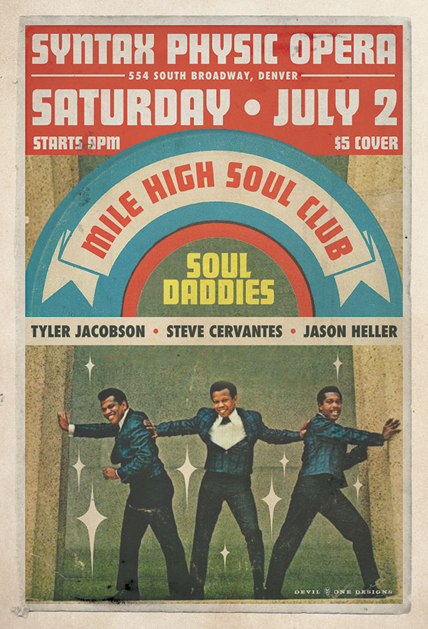 Mile High Soul Club July 2016