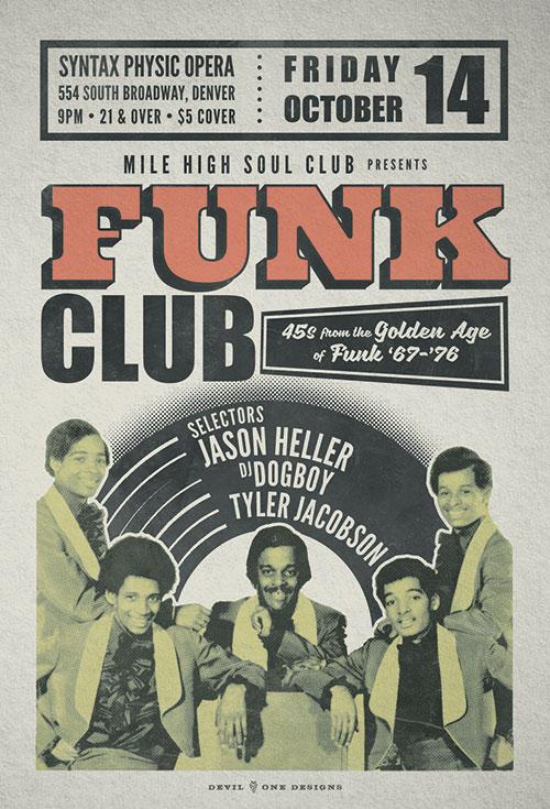 Funk Club presented by Mile High Soul Club