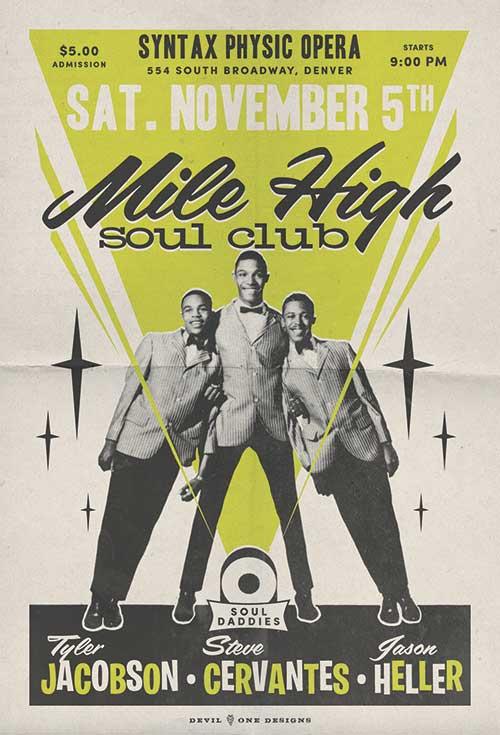 Mile High Soul Club November 2016