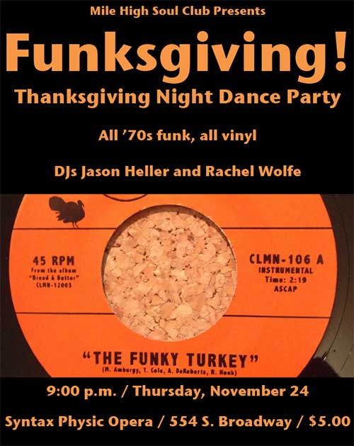Funksgiving presented by Mile High Soul Club