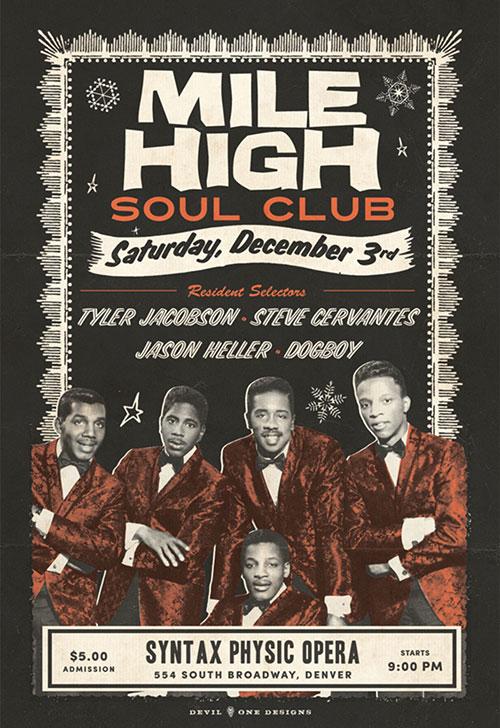 Mile High Soul Club - December 2016