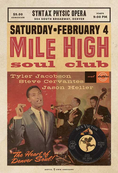 Mile High Soul Club - February 2017 at Syntax, Denver