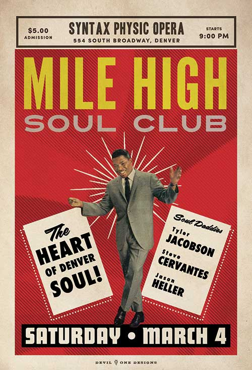 Mile High Soul Club Denver March 4 2017