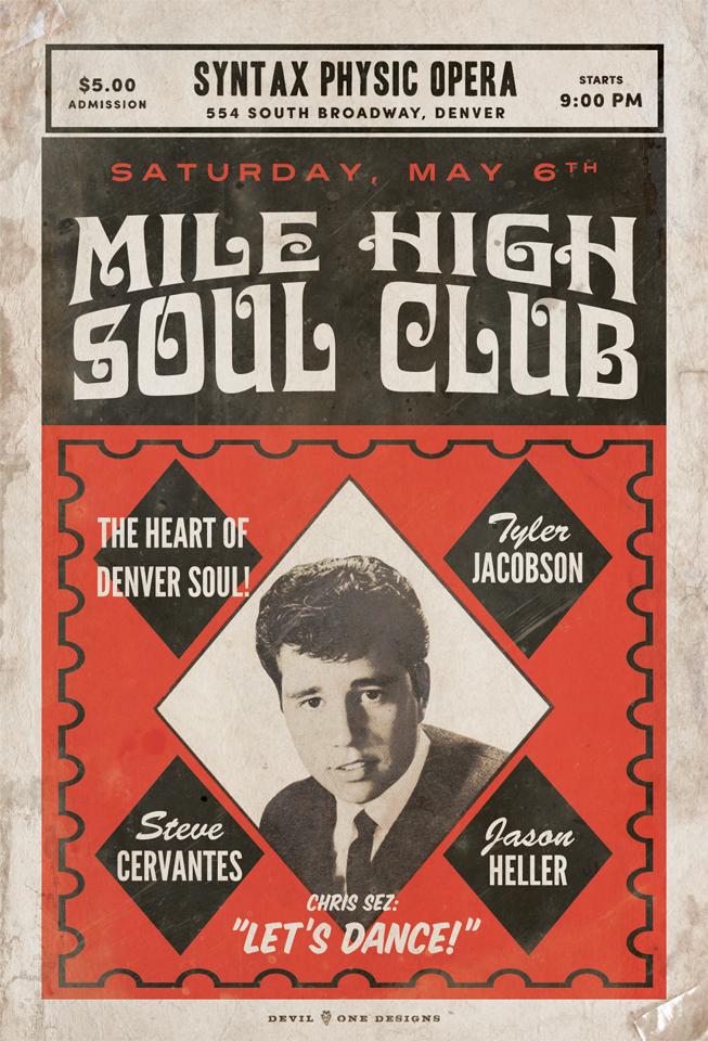 Mile High Soul Club - May 2017