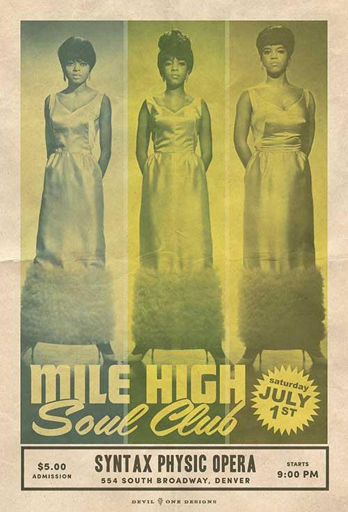 Mile High Soul Club July 2017