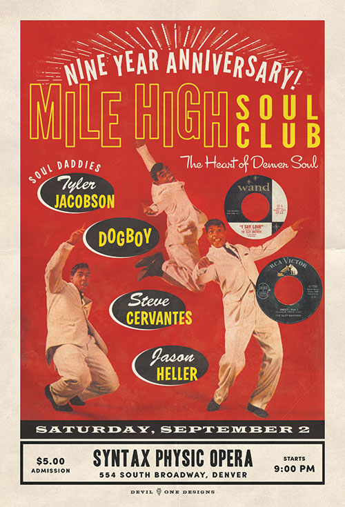 Denver's Best Soul Night Saturday September 2, 2017