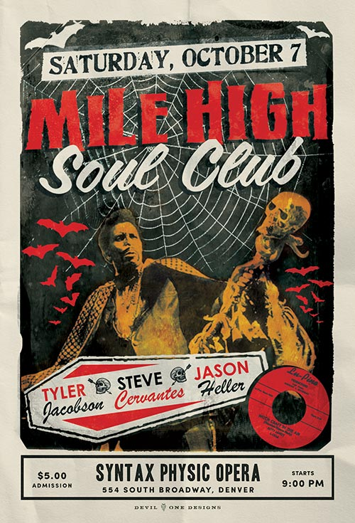 Mile High Soul Club October 2017
