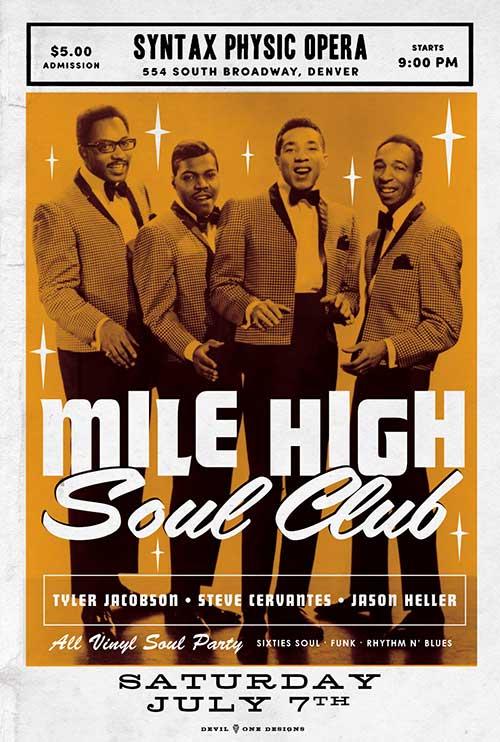Mile High Soul Club July 2018