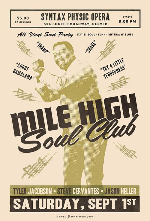 Mile High Soul Club - September 2018