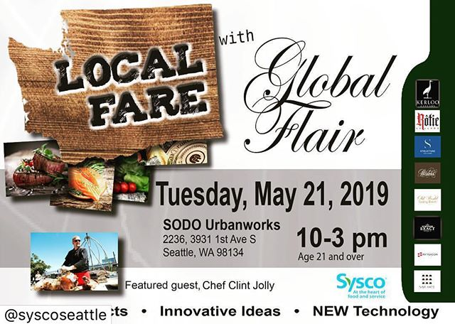 I'm headed up to @syscoseattle in a couple of weeks to share some killer dishes, ideas and inspiration. If you're in the area come check it out! We'll be fusing some of my favorite Mexican and Latin fare with dishes I discovered in my recent trip to Asia.  #truecooks @chefsroll #pnw #chefontheroad