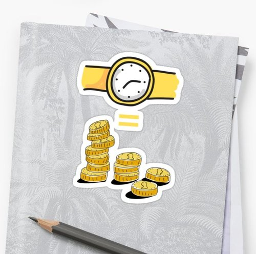 time is money — designs by ali B