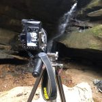 Camera setup at Broken Rock Falls