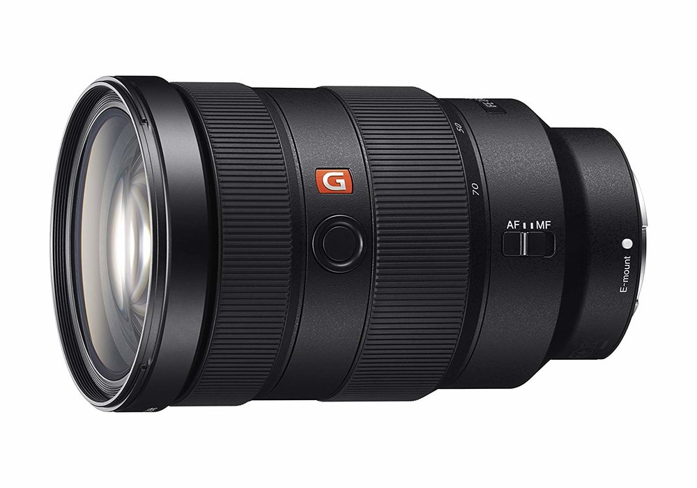 Sony 24 - 70 F2.8 - This G Master lens is an absolute BEAST, and was my only lens for the last two years. I invested in this lens due to its versatility and ability to make the step up to full frame with me.Buy it on Amazon