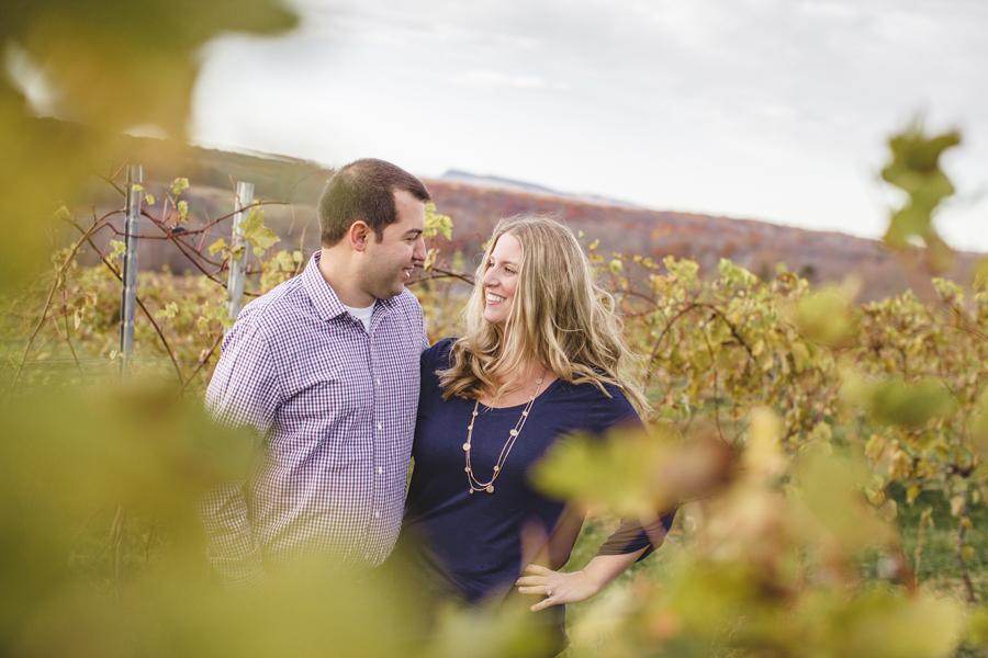 Gouveia Vineyard Engagement Session