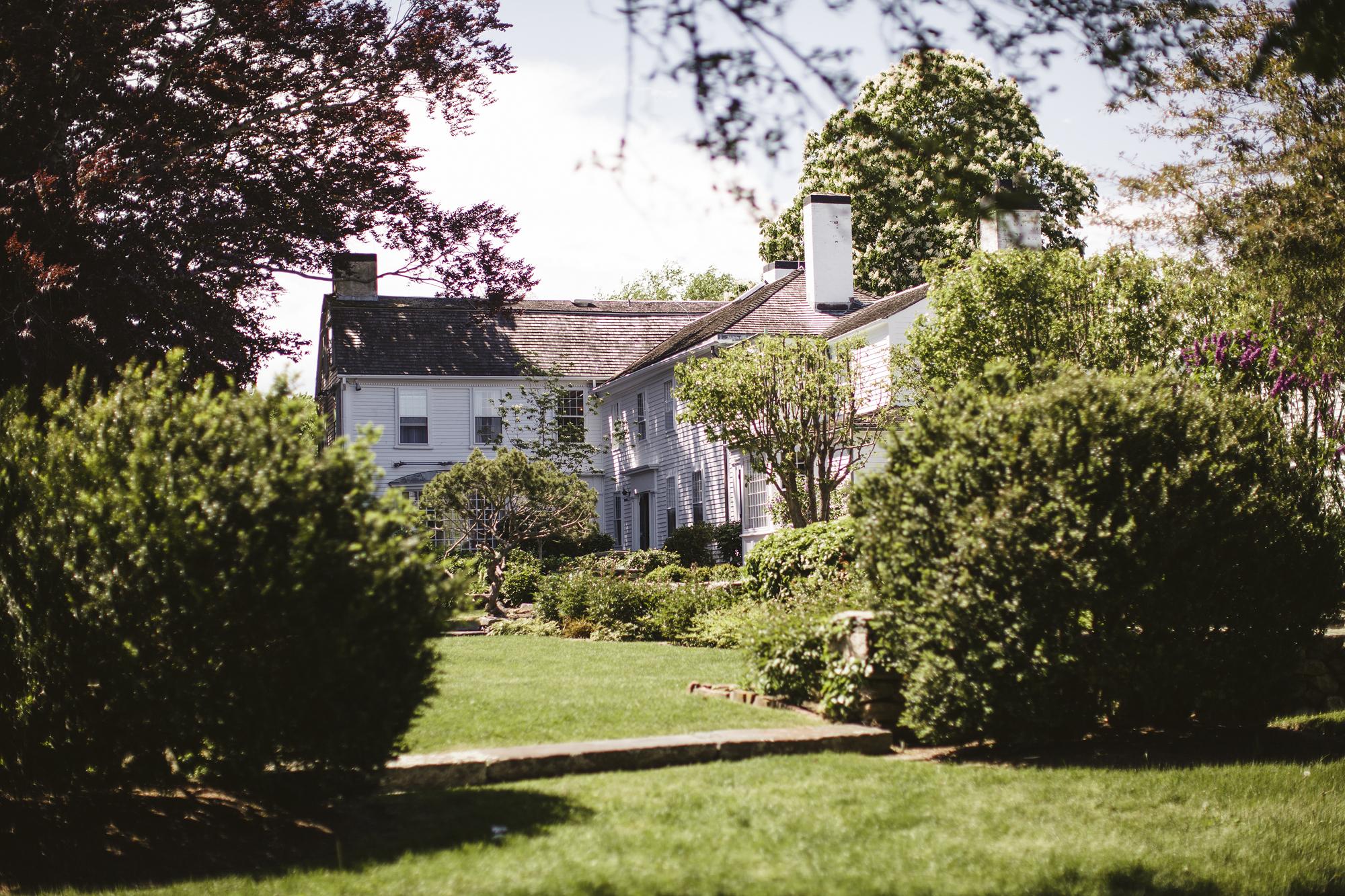 Mount Hope Farm Bristol Rhode Island Wedding