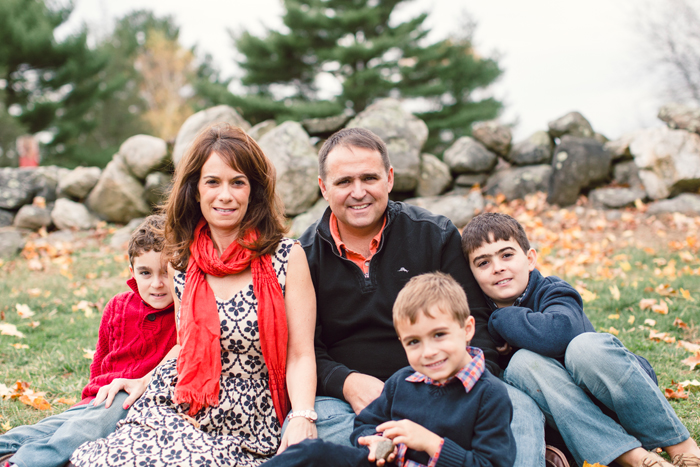 Wilton Connecticut Family Session