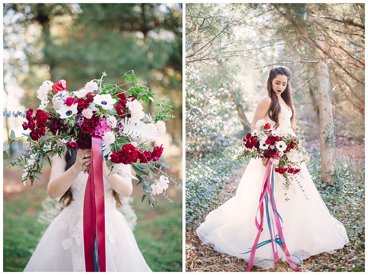 Snow White Wedding by Joanna Fisher Photography