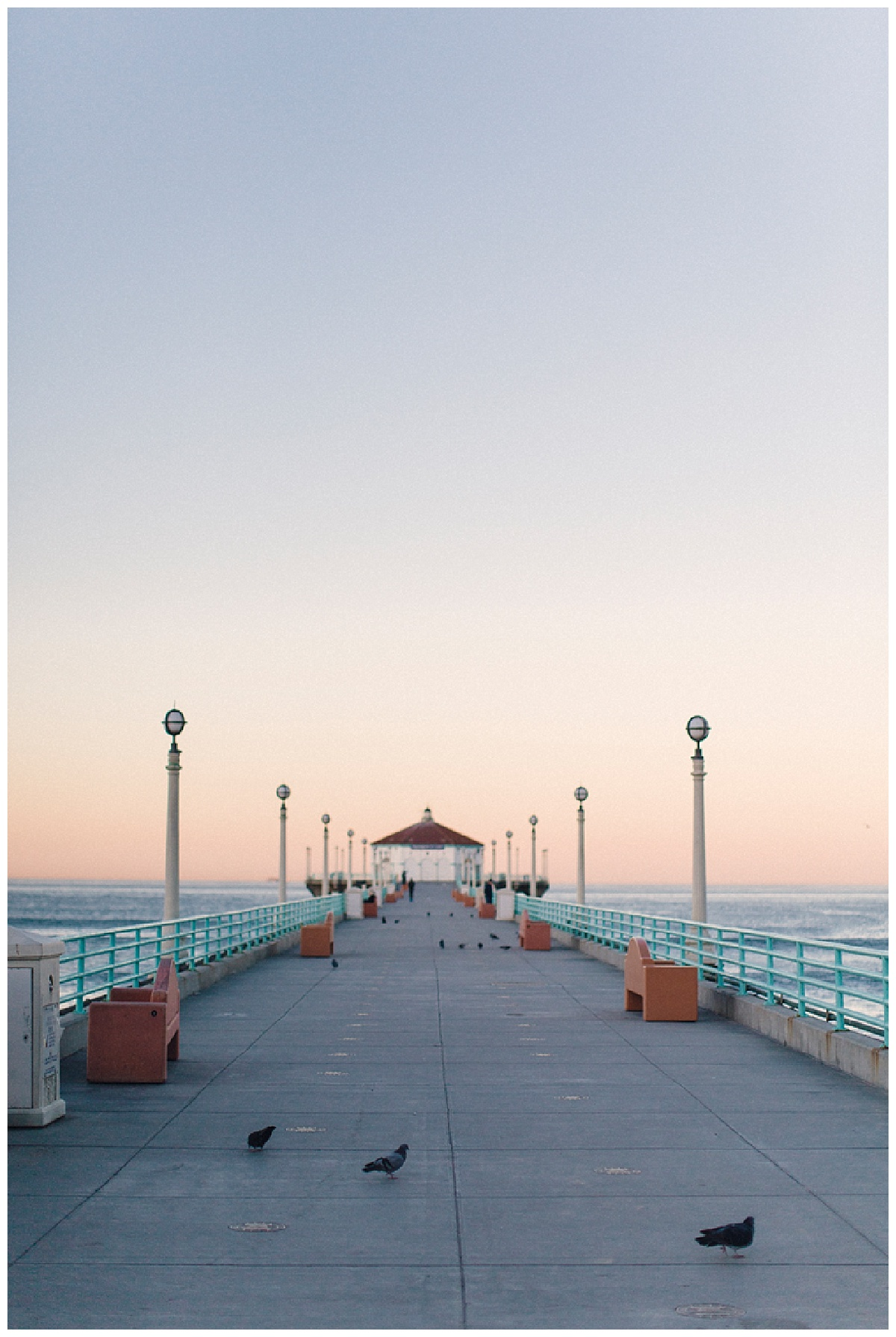 Manhattan Beach Pier Engagement