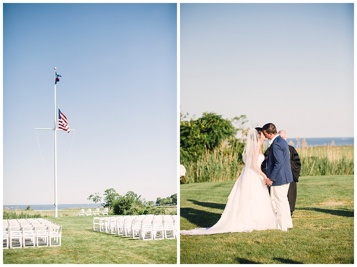 Guilford Yacht Club Wedding