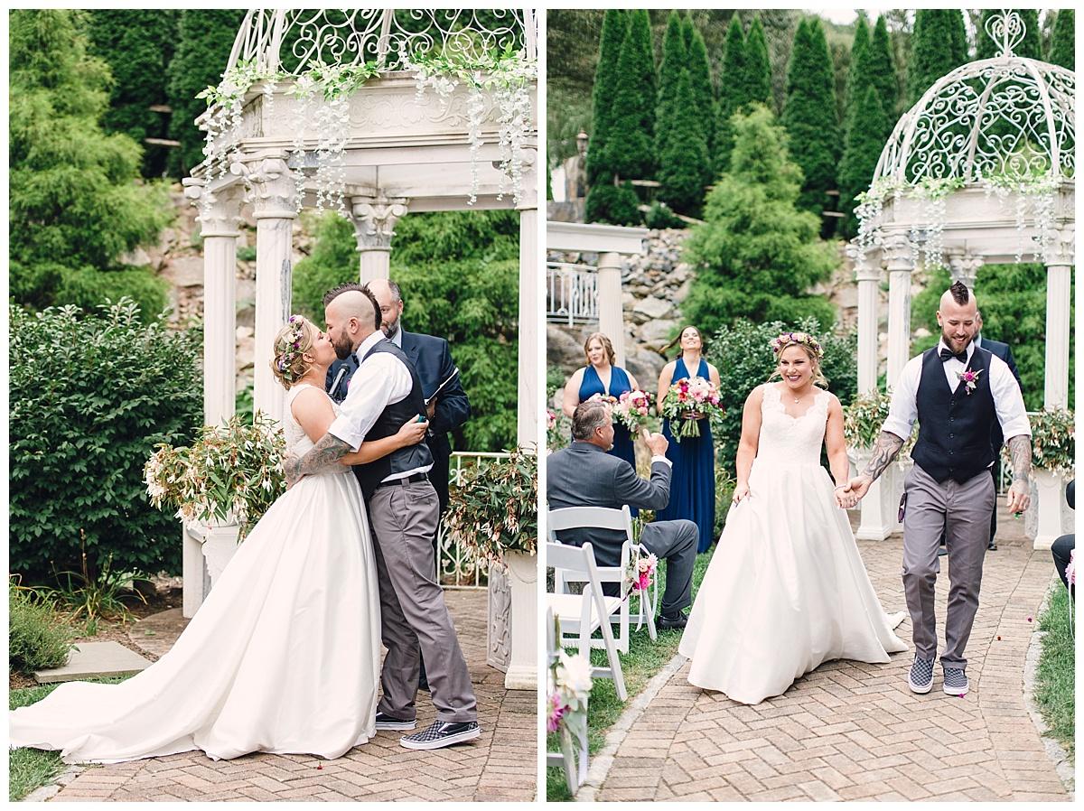 Colorful Garden Wedding