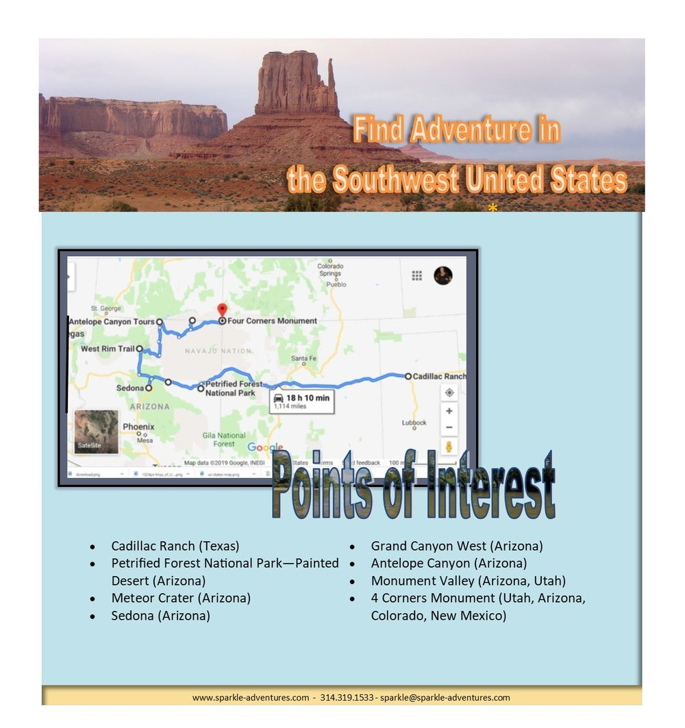Find Adventure in the Southwest United States — Sparkle ...