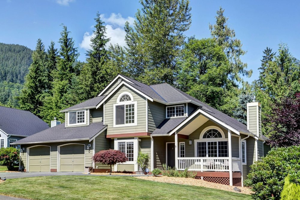 North Bend View Home